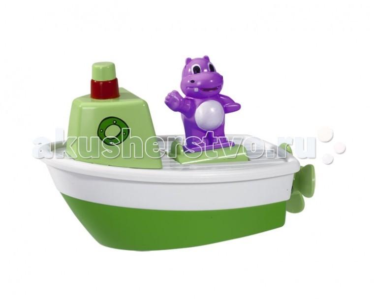 Simba ABC Игрушка для купания Лодочка с животнымABC Игрушка для купания Лодочка с животнымИгрушка для купания Simba ABC Лодочка с животным - замечательный выбор для вашего малыша.   Оригинальные три вида лодочек с разнообразными животными поможет вашему ребенку превратить процесс купания в игру.  Размер игрушки: 13 см<br>