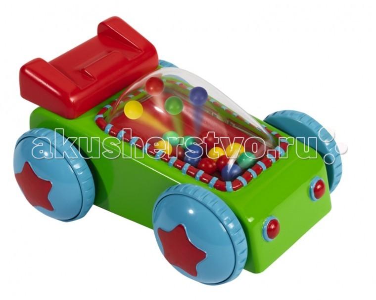 Погремушка Simba ABC МашинкаABC МашинкаПогремушка Simba ABC Машинка с разноцветными шариками внутри  Размер игрушки: 11,5 см<br>