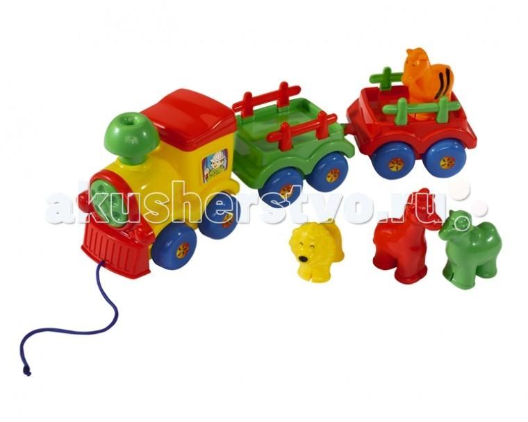 Каталка-игрушка Simba ABC Веселый паровозик