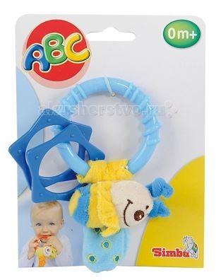 Погремушка Simba ABS БабочкаABS БабочкаПогремушка Simba ABS Насекомое бабочка   Играя, ребёнок сможет развить внимательность, координацию движения рук, мелкую моторику и слуховое восприятие. Игрушка изготовлена из плюша и пластика. На кольце имеется плюшевая игрушка и два пятиугольника в виде кольца, которые могут стать прорезывателями.  Размер игрушки: 15 см<br>