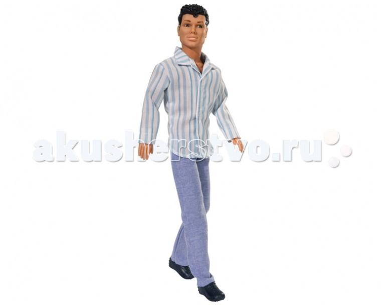 Simba Кукла Кевин супермодельКукла Кевин супермодельКукла Simba Кевин супермодель станет отличным кавалером для куклы вашей малышки!   Кевин красив и хорош собой!   Кукла сделана из высококачественного материала, который совершенно безопасен для здоровья вашего ребенка!   Размер: 29 см<br>