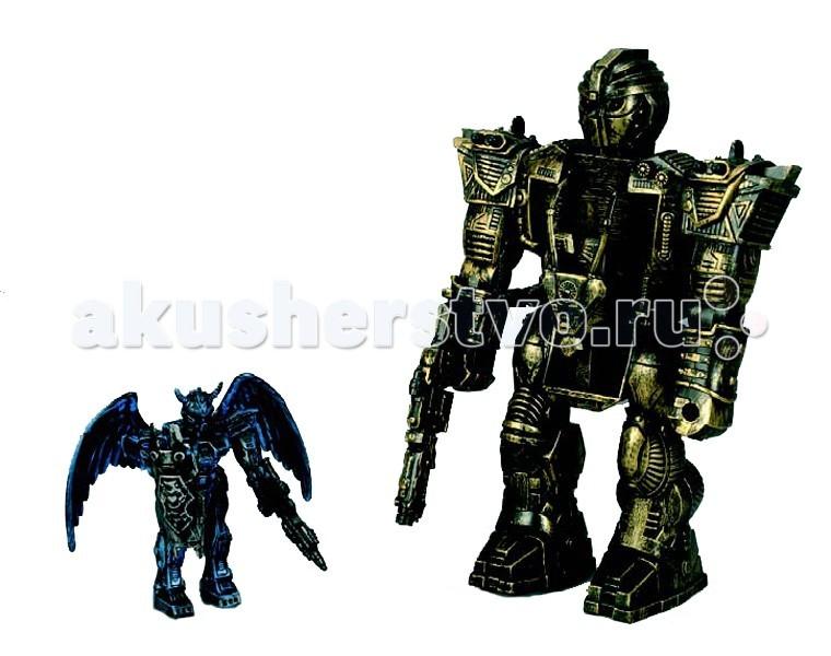 Simba Космический робот 2 в 1Космический робот 2 в 1Космический робот Simba 2 в 1 - оригинальная игрушка, представляет собой 2 робота сложенных в одного.    Особенности:    Игрушка имеет приятную детализацию и возможности складывания.   Руки и ноги роботов можно поворачивать вверх и вниз.   Приятный дизайн под металлическую отделку привлечет вашего малыша и позволит провести немало приятных моментов за игрой с такими роботами.    Размер: 30 см и 13 см<br>