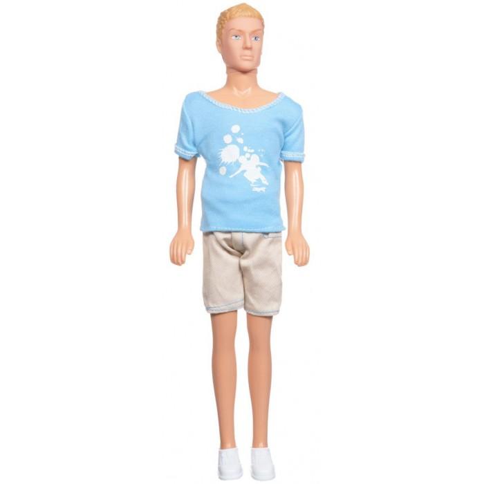 Simba Кукла Кевин спортсменКукла Кевин спортсменКукла Simba Кевин спортсмен станет отличным кавалером для куклы вашей малышки!   Кевин красив и хорош собой!   Кукла сделана из высококачественного материала, который совершенно безопасен для здоровья вашего ребенка!   Размер: 29 см<br>