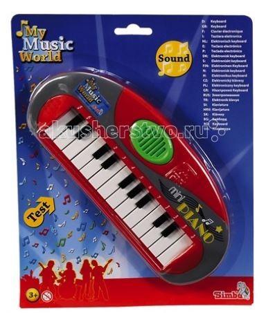 Музыкальная игрушка Simba Мини-пианино