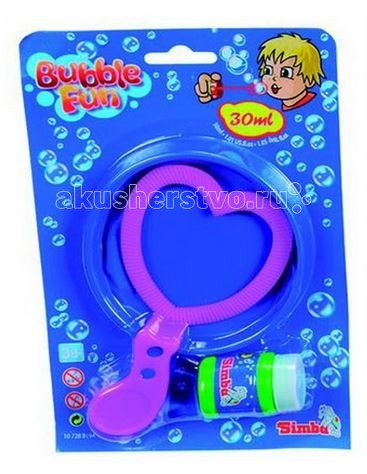 Simba Набор мыльных пузырей Bubble Fun 30 мл