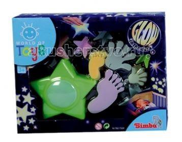 Simba Наклейки светящиеся World of Toys + ночник