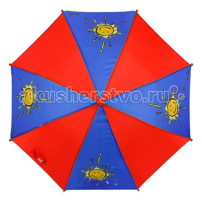 Детский зонтик Simba 78641657864165Зонтик Simba яркий и привлекательный, изготовлен из водонепроницаемого материала и пластика. Благодаря удобному механизму, ребенок может сам открывать и закрывать зонтик.<br>