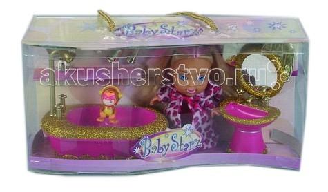 Simba Кукла стильная с аксессуарами для ванной