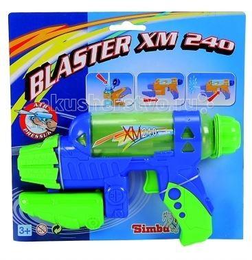Simba Водный пистолет 24 смВодный пистолет 24 смВодный пистолет Simba - для веселых игр с водой в жаркую, летнюю погоду!  С ним можно интересно провести летний жаркий день и устроить веселые водные сражения.   Стоит только нажать на курок игрушечного пистолета, как выстрелит тонкая струя воды, поразив противника. Это будет очень весело и не оставит без внимания ни одного мальчугана. Ребята будут хоть целый день бегать и прыгать, играя с водным пистолетом, заодно становясь сильнее, быстрее и ловчее, а также развивая моторику, быстроту реакции и координацию движений, внимательность.  Размер: 24см<br>