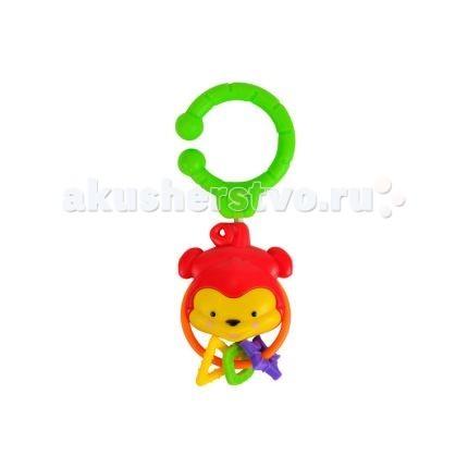 Подвесная игрушка Simba ЖивотныеЖивотныеПодвесная игрушка Simba Животные изготовлена из превосходного пластика и при тряске издает по-настоящему забавные, но в то же время тихие звуки. Изделие выполнено в виде симпатичной зверушки.  Особенности: Ее дизайн достаточно мил и ярок.  В верхней части игрушки располагается крепление, благодаря которому ее можно будет повесить на детскую кроватку или автокресло.  Погремушка достаточно крупная 8 см, чтобы малыш случайно ее не проглотил.<br>