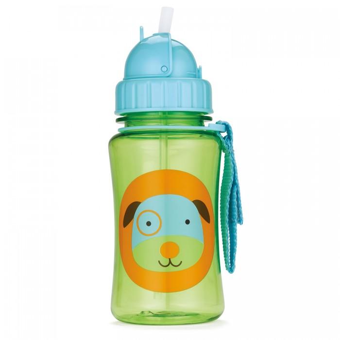 Поильник Skip-Hop Zoo Straw Bottle 350 млZoo Straw Bottle 350 млПоильник Skip-Hop Zoo Straw Bottle для детей от 12 месяцев. Для того, чтобы трубочка не пачкалась, она закрывается удобной крышкой.   Можно мыть в посудомоечной машине.  Изготовлен из экологически чистого пластика.  Не содержит BPA, Phthalate и PVC.<br>