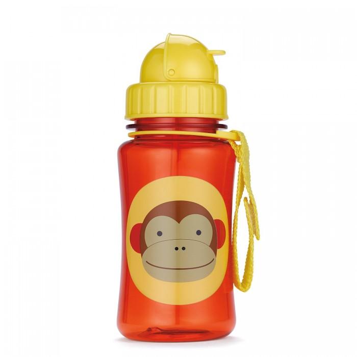 Поильник Skip-Hop Zoo Straw Bottle 350 мл