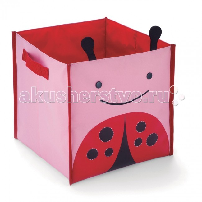Skip-Hop Раскладная корзина для игрушек Zoo Bin