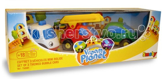 Smoby ����� �� 3-� ������� Vroom Planet