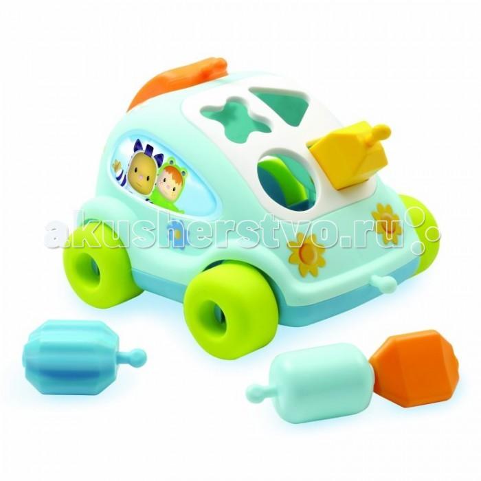 Сортер Smoby Cotoons Развивающий автомобиль с фигурками от Акушерство