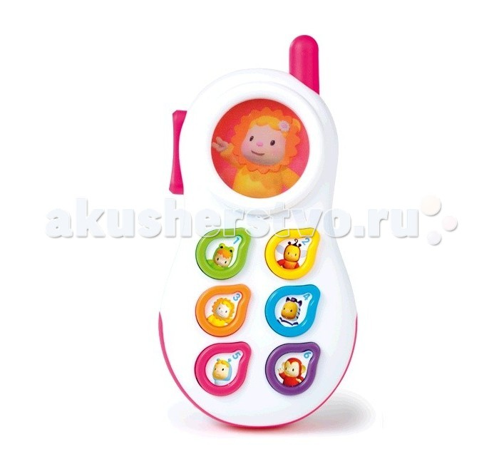 Музыкальная игрушка Smoby Телефон со светом и звуком