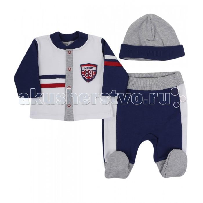 Soni Kids Комплект Спортивная Академия (ползунки, кофточка, шапочка)