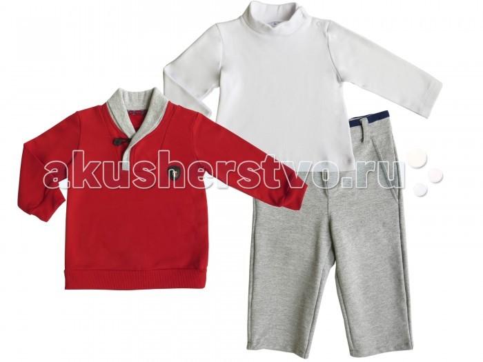 Soni Kids Комплект Спортивная Академия (водолазка, джемпер и брюки)