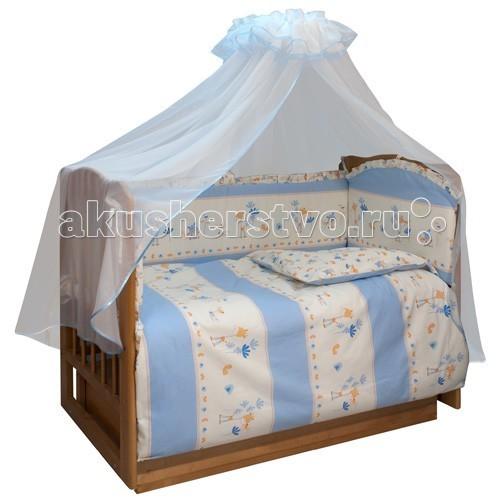 Бампер для кроватки Soni Kids Маленький секретМаленький секретОчень красивый высококачественный бампер в кроватку. Антиаллергенный наполнитель - холлофайбер. Размер: 360 х 44 см. Тип ткани : поплин Состав : 100% хлопок<br>