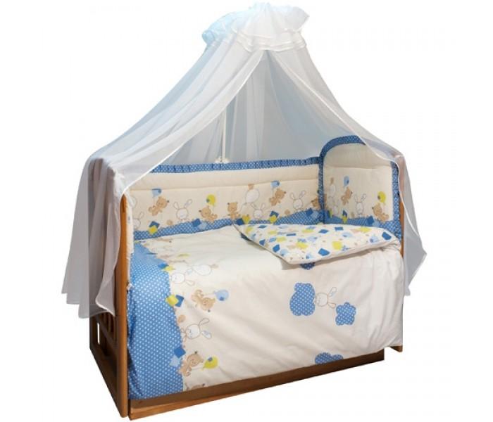 Комплект для кроватки Soni Kids В уютных облачках (7 предметов)
