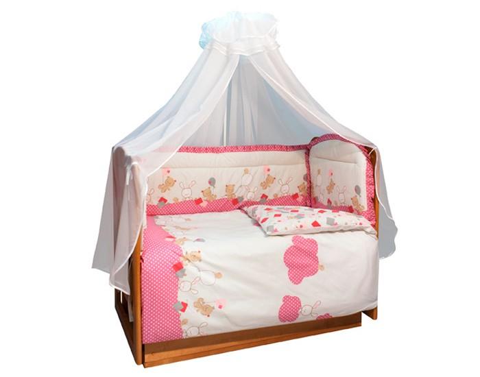 Бампер для кроватки Soni Kids В уютных облачкахВ уютных облачкахОчень красивый высококачественный бампер в кроватку. Антиаллергенный наполнитель - холлофайбер. Размер: 360 х 44 см. Тип ткани : поплин Состав : 100% хлопок<br>