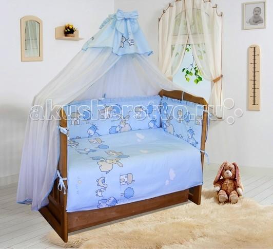 Постельное белье Soni Kids Веселая ферма (3 предмета)Веселая ферма (3 предмета)Комплект постельного белья в кроватку Веселая ферма Soni Kids выполнен из высококачественного антибактериального и гипоаллергенного 100% хлопка. Модель порадует заботливых родителей шелковистым, воздушным, хорошо пропускающим влагу материалом и красивым дизайном.   Материал: поплин (100% хлопок)  В комплекте: пододеяльник: 110 х 140 см наволочка: 40 х 60 см простынка на резинке: 150 х 90 см<br>