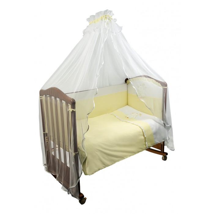 Бампер для кроватки Сонный гномик Пушистик