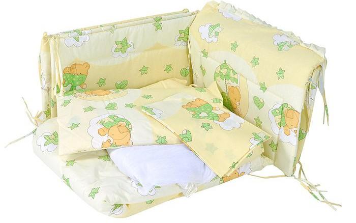 Бампер для кроватки Сонный гномик Мишкин сон
