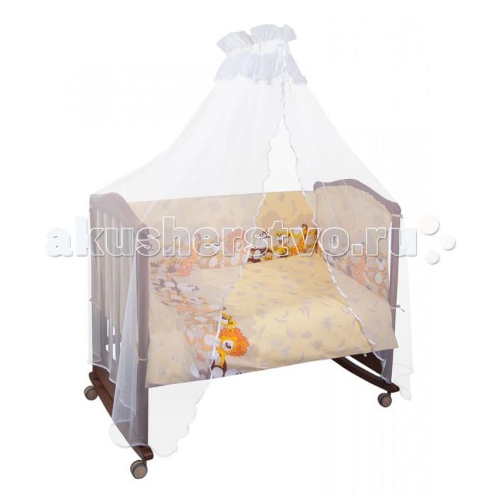Комплект в кроватку Сонный гномик Африка (4 предмета)