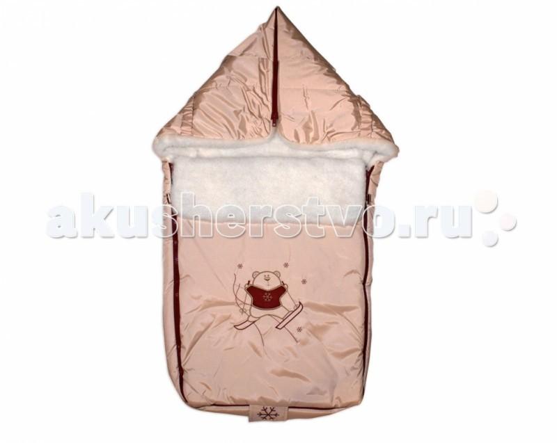 Зимний конверт Сонный гномик ЛыжникЛыжникЗимний конверт Сонный гномик Лыжник это прекрасный теплый конверт который подарит вашему малышу комфорт во время прогулок в холодную погоду Верх из специальной синтетической ткани Dewspa, защищает от дождя и ветра. Мех: счес из натуральной овечьей шерсти на синтетической основе, очень легкий и теплый.  Теплосберегающая мембрана на основе синтепона плотностью 200. Дополнительный клапан для защиты от ветра. Удобная конструкция на двух застежках-молниях. Легко превращается в меховой плед, Дополнительная система крепления для использования с санками.  Размер: 45х80 см.<br>