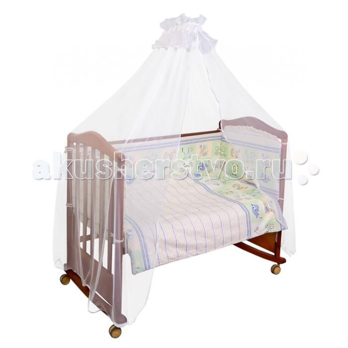 Комплект в кроватку Сонный гномик Считалочка (4 предмета)