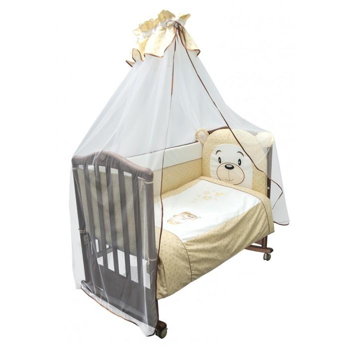 Бампер для кроватки Сонный гномик Умка