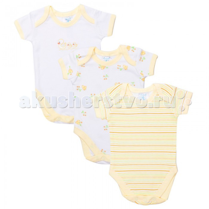 Spasilk Боди короткий рукав ON S3H04 3 шт.Боди короткий рукав ON S3H04 3 шт.Spasilk Боди ON S3H04 с коротким рукавом.   Особенности: Боди - универсальная одежда для новорождённого.  Удобные и практичные, боди могут использоваться как в сочетании с другими видами одежды, так и как самостоятельный предмет гардероба. Боди предназначен для детей: от 0 до 3 мес. Размер 55-61 см от 3 до 6 мес. Размер 61-67 см  от 6 до 9 мес. Размер 67-72 см<br>