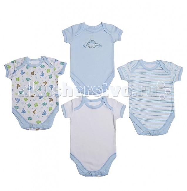 Spasilk Боди ON S4HS2/ON S4HS3 4 шт. 0-3 мес.Боди ON S4HS2/ON S4HS3 4 шт. 0-3 мес.Spasilk Боди ON S4HS2/ON S4HS3 с коротким рукавом.   Особенности: Боди - универсальная одежда для новорождённого.  Удобные и практичные, боди могут использоваться как в сочетании с другими видами одежды, так и как самостоятельный предмет гардероба. Размер: 55-61 см<br>