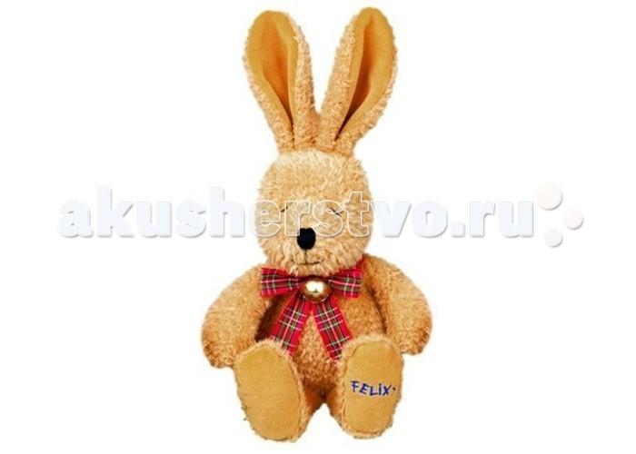Мягкая игрушка Spiegelburg Плюшевый FelixПлюшевый FelixSpiegelburg Плюшевый Felix мягкий мохнатый кролик украшен клетчатым бантиком с бубенчиком.  Такие игрушки моментально становятся любимцами малыша и сопровождают его повсюду – за столом, на прогулке, в кроватке.<br>