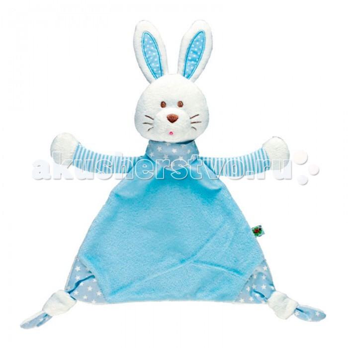 Развивающая игрушка Spiegelburg Зайка платочек Baby Gluck