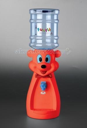 Star Plastik Детский кулер FUNTIK - Star PlastikДетский кулер FUNTIKДетский кулер Moove&Fun FUNTIK изготовлен из экологически чистого пищевого пластика с пластиковой емкостью объёмом 2 л, в которую можно наливать любые жидкости (воду, соки, компот, лимонад и пр.).   Изделие легко разбирается и моется.  Для того, чтобы наполнить кулер, снимите бутылку, отвинтите крышку. Далее наполните бутыль любой жидкостью на ваш выбор, на крышке закройте клапан. Бутыль переверните горлышком вниз и поставьте на кулер.   В комплекте:    кулер  бутыль 2 л с крышкой  пластиковый стаканчик   Длина: 20 Ширина: 20 Высота: 50<br>
