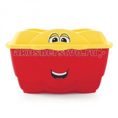 Step 2 Весёлый контейнер 128 лВесёлый контейнер 128 лStep 2 Весёлый контейнер для игрушек, который поможет ребенку наводить порядок в его комнате. Отлично впишется в интерьер детской комнаты.   Особенности: привлекательный дизайн контейнера 106 литров ящик, 22 литра крышка хорошо вентилируется по бокам 2 удобные ручки для переноски; прочная конструкция прослужит долгие годы поставляется в собранном виде товар сертифицирован<br>