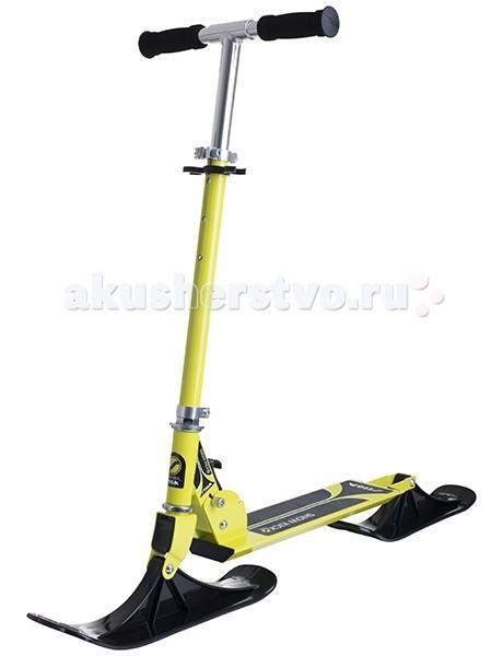 Снегокат Stiga Самокат Bike Snow KickСамокат Bike Snow KickStiga Снегокат - Самокат Bike Snow Kick  Любителям самокатов и сноубордов она точно придется по вкусу. Прочная рама из усиленного алюминия выдержит снежные испытания и своего обладателя. На раме закреплена платформа для ног с шероховатой поверхностью, предотвращающая скольжение ноги.  Вместо колес модель оснащена двумя лыжами. Передняя лыжа самоката Stiga Bike Snow Kick управляется с помощью поворота руля. Ручки дополнены мягкими накладками, согревающими руки и предотвращающими скольжение. Высота руля регулируется по росту.  Особенности: Платформа для ног с шероховатой поверхностью Вместо колес модель оснащена двумя лыжами Передняя лыжа управляется с помощью поворота руля Ручки дополнены мягкими накладками Высота руля регулируется по росту Легкая конструкция Алюминиевая рама Складная конструкция Размер упаковки (ДхШхВ): 59 x 17.5 x 11.5 см Вес в упаковке: 3 кг<br>