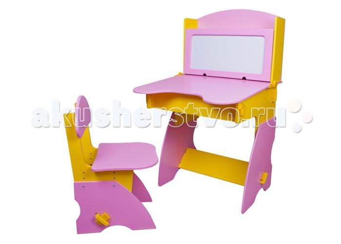 Столики Детям Комплект столика с магнитной доской со стульчиком Фантазер