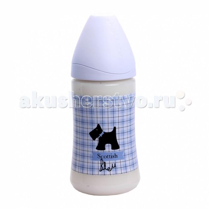 Бутылочка Suavinex Liberty пластик с силиконовой соской 0-6 мес. 270 мл