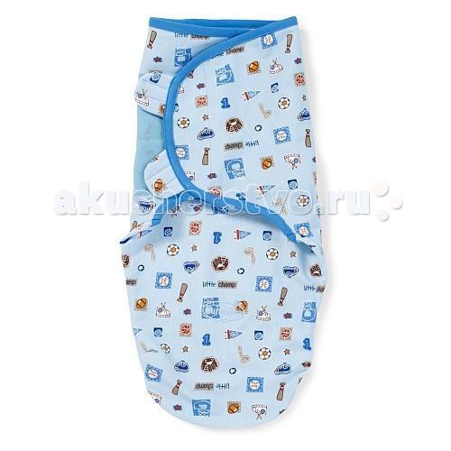Пеленка Summer Infant Swaddleme Конверт для пеленания на липучке (р-р S/M)