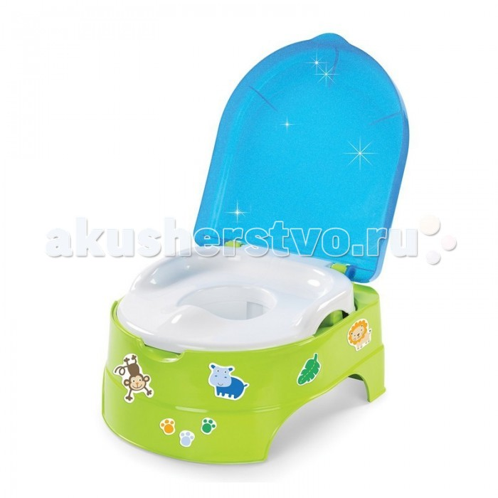 Горшок Summer Infant подножка 2 в 1 My Fun Potty