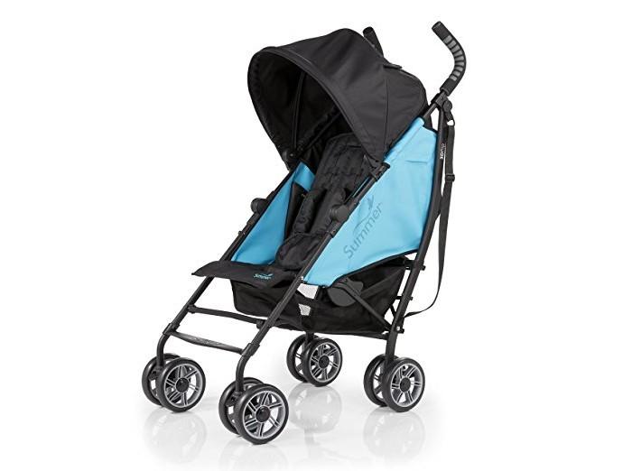 Коляска-трость Summer Infant 3D Flip3D FlipДетская  прогулочная коляска 3D Flip Summer Infant  Компактная, удобная коляска-трость 3D-Lite Stroller от компании Summer Infant! Идеально подходит для летних путешествий!  Это долговечная коляска, которая имеет легкий и прочный алюминиевый каркас. Съемный навес с откидным козырьком будет надежно защищать ребенка от солнца. Кроме того, удобное широкое сиденье коляски и наличие функции трансформирования в лежачую позицию означают, что ваш ребенок всегда будет чувствовать себя комфортно. Большие колеса позволяют коляске ездить по любой поверхности, а 5-точечный ремень с мягкими накладками обеспечивает максимальную безопасность для вашего малыша.   Задний карман - это удобное место для хранения мелких предметов, например, ключей, а в большую корзину, легко помещаются крупногабаритные вещи.   Отличительные особенности детской коляски-трости 3D Flip Stroller 2L: Широкое двухстороннее сидение. Опускающаяся спинка (6 положений). 8-колес (по 4 сдвоенных колеса высокой проходимости). Вместительная корзина для покупок. Максимальная нагрузка: 4,5 кг Опускающийся капюшон с УФ-защитой. Легкий механизм сложения. 5-точечный ремень безопасности с мягкими накладками. Передние вращающиеся колеса с возможностью фиксации, задние колеса с тормозами. Максимальный вес и рост ребенка:  лицом по направлению движения: 22.7 кг и 109 см.  лицом против движения: 11.3 кг и 76 см. Задний карман для хранения. Максимальная нагрузка: 0,9 кг В комплекте имеется удобный подстаканник. Вес 8 кг<br>