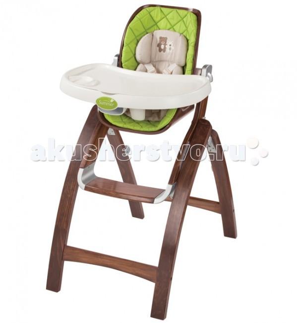 Стульчик для кормления Summer Infant BentWoodBentWoodСтульчик Summer Infant BentWood - это безопасное сидение для вашего малыша. У стульчика 3 позиции наклона и 4 положения по высоте сиденья, очень компактный, занимает мало места в сложенном виде. В комплекте есть подкладка для детей ясельного возраста.  удобный складной стульчик для игр и кормления малыша;  материал: массив новозеландской сосны;  угол наклона регулируется в 3-х положениях;  сиденье регулируется по высоте – 4 уровня;  максимальный вес: 25 кг;  надежные 5-точечные ремни безопасности;  в комплект входит подкладка для самых маленьких;  компактно складывается и занимает минимум места при хранении и транспортировке.   Размер упаковки: 115х57х24 см. Вес 11.5 кг<br>