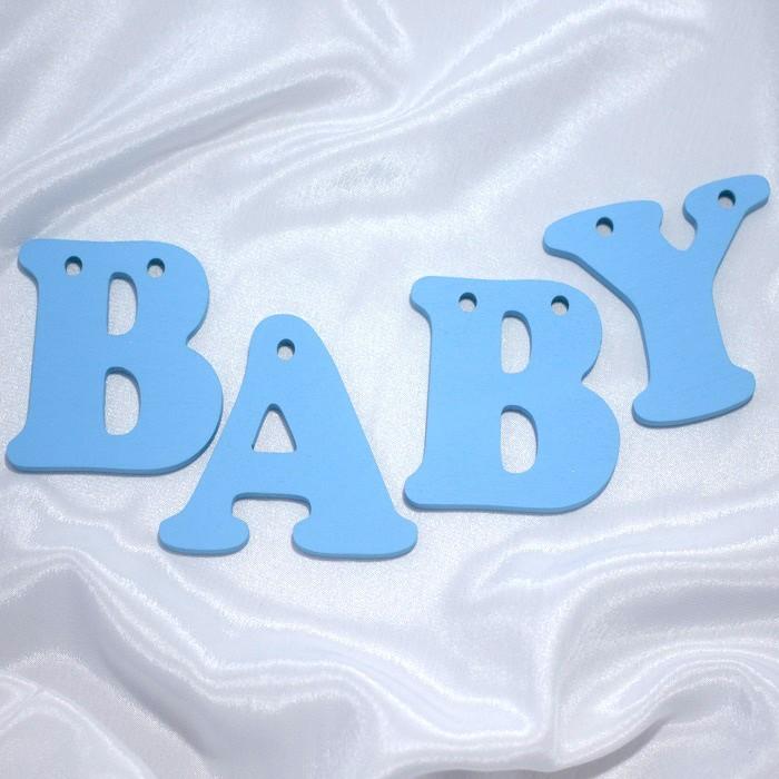 Suvenirrus Декоративное слово Baby (буквы по отдельности)