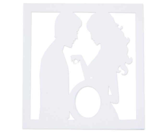 Suvenirrus Рамка для УЗИ Мама и Папа