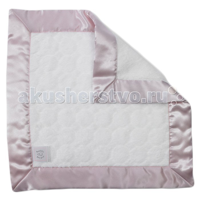 SwaddleDesigns Комфортер платочек обнимашка Baby Lovie плюшевая нежность