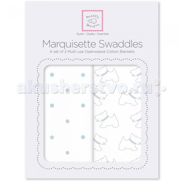 Пеленка SwaddleDesigns Marquisette Swaddling Blanket 2 шт.Marquisette Swaddling Blanket 2 шт.Пеленка Marquisette Swaddling Blanket для пеленания в теплом климате при более теплой температуре окружающей среды. Пеленки - одеяла выполнены из высококачественного воздушного хлопка с оригинальным узором. Маркизет похож на марлю, но этот материал приятнее на ощупь, благодаря замечательным ниткам высшего качества. Swaddle Designs предлагает самые лучшие, самые высококачественные легкие пеленки.  Дизайн разработан медсестрой Линетт Дамир. Победитель множества наград. Лауреат премии Великий дар (Award Winner Great Gift). Рекомендованы педиатрами и мамами во всем мире.  Многофункциональная и универсальная: используйте для пеленания, как легкое одеяло, солнечный козырек, накидку для кормления грудью, при болях в животике. Эту пеленку вы будете использовать на протяжении нескольких лет и не пожалеете о покупке.  Характеристики:  Машинная стирка при 30С, деликатный отжим.  Размер пеленки 120 x 120 см Состав: 100% хлопок маркизет.<br>