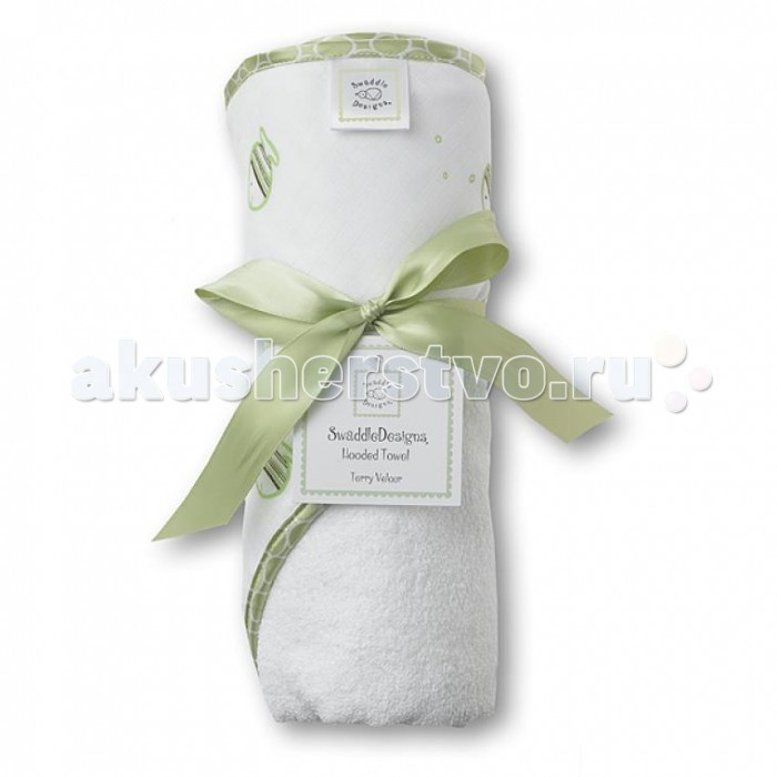 SwaddleDesigns Полотенца с капюшоном Hooded TowelПолотенца с капюшоном Hooded TowelПолотенца с капюшоном Hooded Towel мягкое, махровое полотенце с капюшоном Hooded Towel от SwaddleDesigns замечательно впитывает влагу и быстро сохнет. Сохраняйте для малыша тепло и уют после ванны или бассейна.  Благодаря капюшону впитывает влагу с тела и волос ребенка.Махровые полотенца с капюшоном SwaddleDesigns - модные, практичные и забавные предметы первой необходимости на каждый день. Очень мягкие, замечательно впитывают влагу, что позволяет поддерживать кожу малыша сухой и теплой.  Характеристики: Размер: 75 x 75 см Рекомендации по уходу: Машинная стирка при 30°С, деликатный отжим.<br>